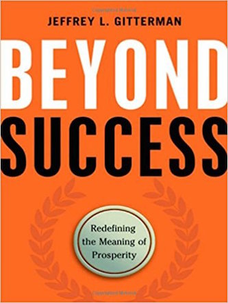 Beyond Success by Jeff Gitterman